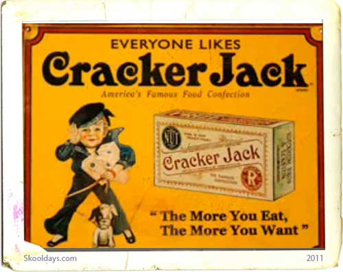 When Cracker Jack had to Throw out the Toy …