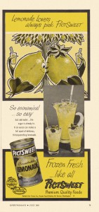 Lemonade Concentrate, Pictsweet