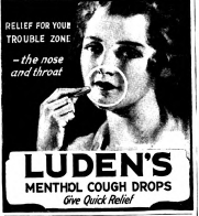 Luden's Ad